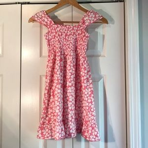 Other - Girls Pink and white sundress dress Sz 8